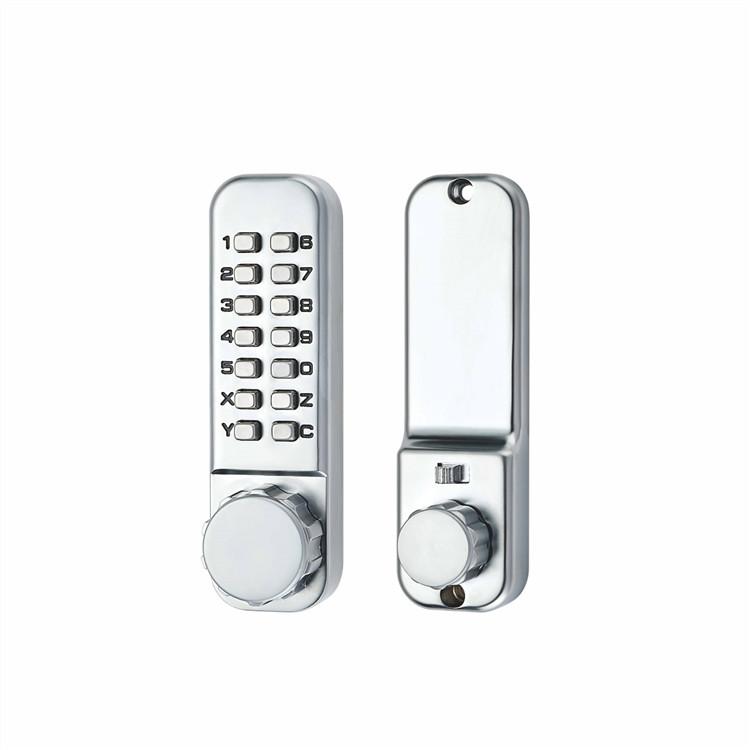 high quality mechanical push button keypad code door locks