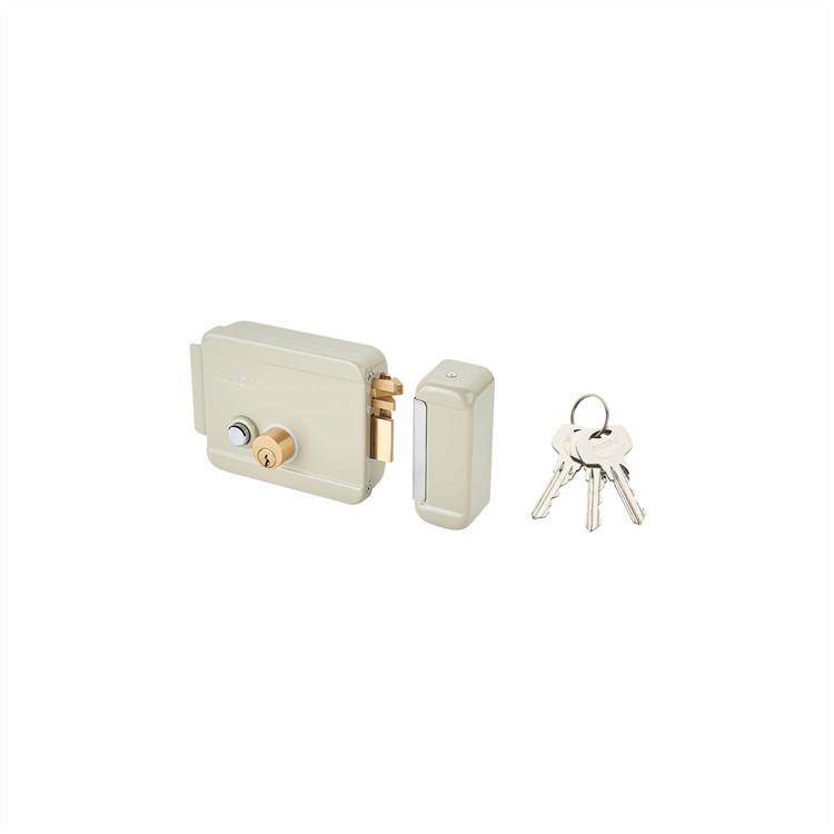 high theft-guarding performance electric control key lock