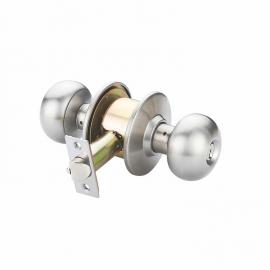 door knob handle cylindrical lockset for interior doors