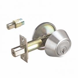 high precision single cylinder deadbolt door lock for wooden door