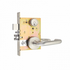 ul listed american mortise lock set for wooden door