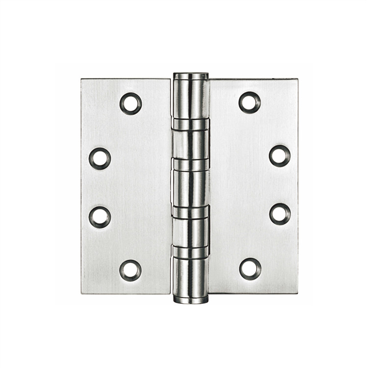 4 ball bearing stainless steel fixed pin door butt hinges