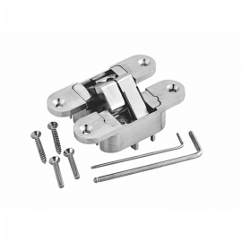 zinc alloy concealed 3D adjustable door hinges for interior door