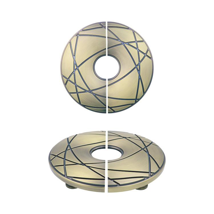 hot design zinc alloy classical round shape door knobs for doors