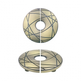 hot design zinc alloy classical round shape door knobs for doors
