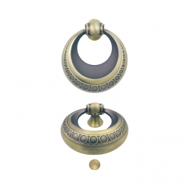 chinese supplier new design zinc alloy classical ring shape door knobs for doors