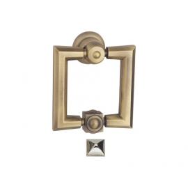 high quality zinc alloy classical square shape door knocker for doors