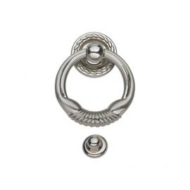 classical style zinc alloy ring shape door knocker for door