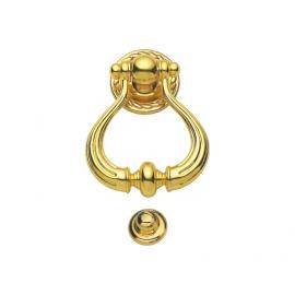 luxurious zinc alloy golden ring shape door knocker for door