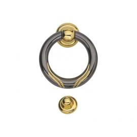 luxurious classical zinc alloy ring shape door knocker for doors