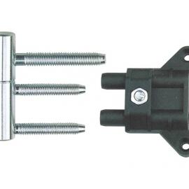 security top standard zinc alloy screw hinge