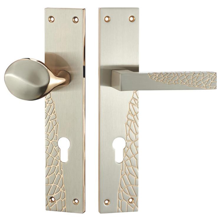Zinc High Quality Door Lock Handles With Round Knobs