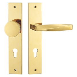 Zinc High Quality Door Lock Handles With Round Knobs