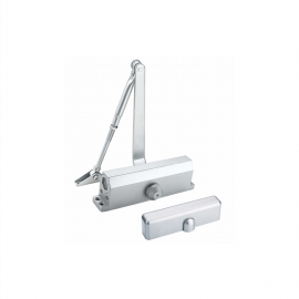 Economical UL listed fire rated door closer with cover for steel fire doors
