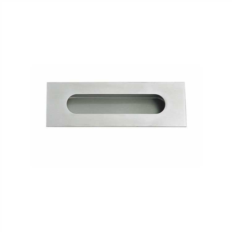 stainless steel invisible installation flush pull handle