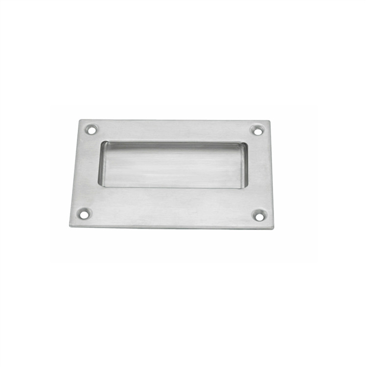 square flush mount door pull handles for cabinet, box