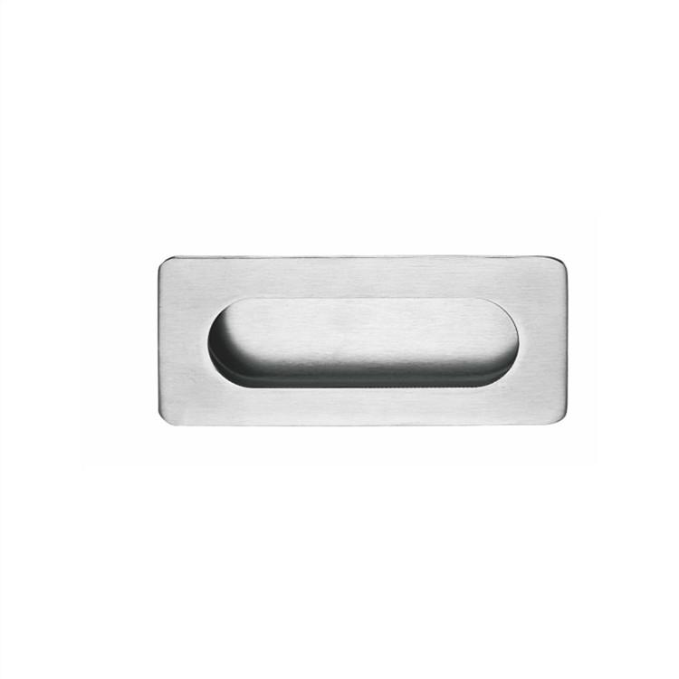 stainless steel flexible flush pull hanldles
