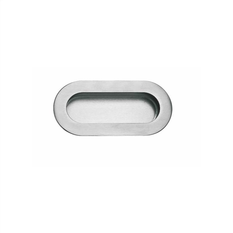 cabinet oval u shape flush pull handles