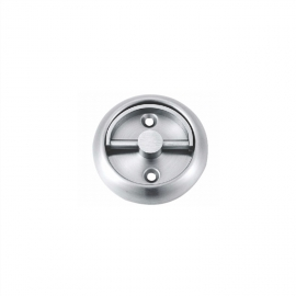 high quality stainless seel round recessed door handles flush finger pulls