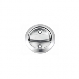 round recessed door handles flush finger pulls