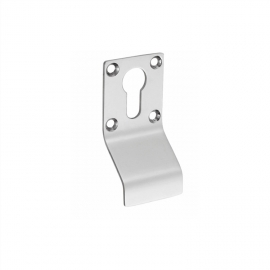 stainless steel pull handle plate with Euor  profile cylinder hole