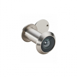 High quality brass door viewer with cover