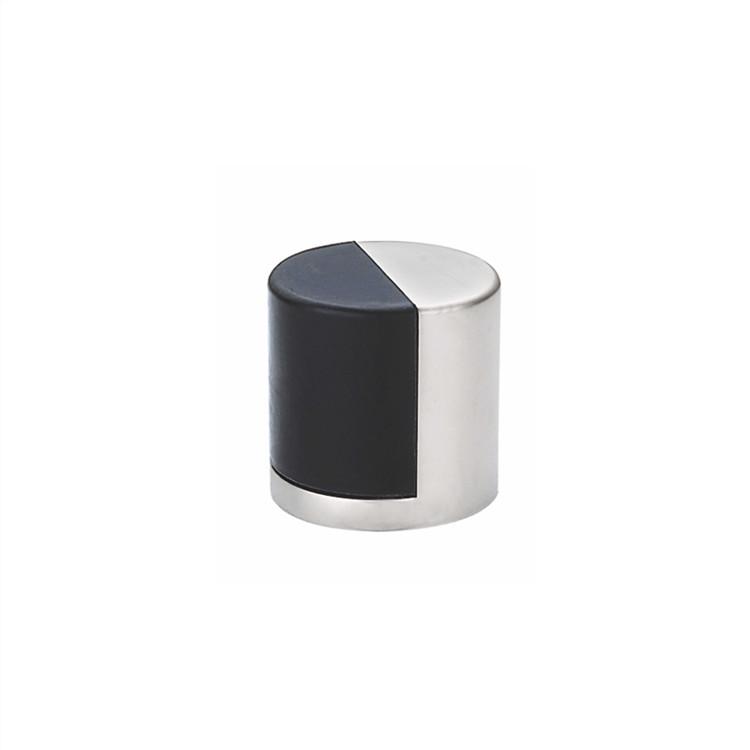 round floor mounted stainless steel portable door stopper