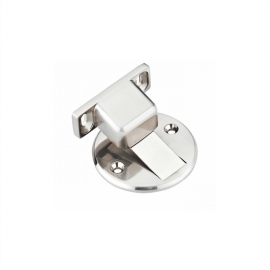 Floor door Mounted Zinc alloy magnetic Door Stopper invisible installation