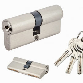 Master Key Europrofile Brass Mortise Cylinder Locks