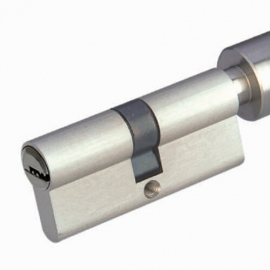 Nickel Plated Zinc alloy  Mortise Cylinder Locks With thumbturn