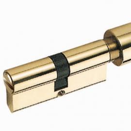 70mm Glod Polished Zamac Dor ock Cylinder for Bathroom