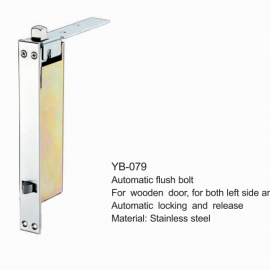 Stainless Steel Automatic flush Bolt for wooden Door