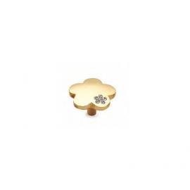 Modern Style Flower Shape Cabinet Knob