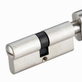 Chrome Door Lock Cylinder for Washroom Door