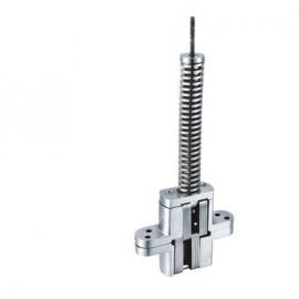 28x118x22mm Stainless Steel Adjustable Spring Concealed Hinge