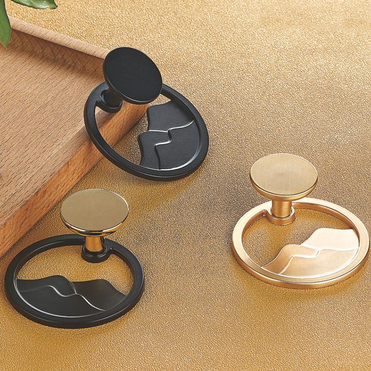 Round shape decorative furniture knobs